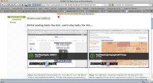 Screencast Gallery - CEP 891